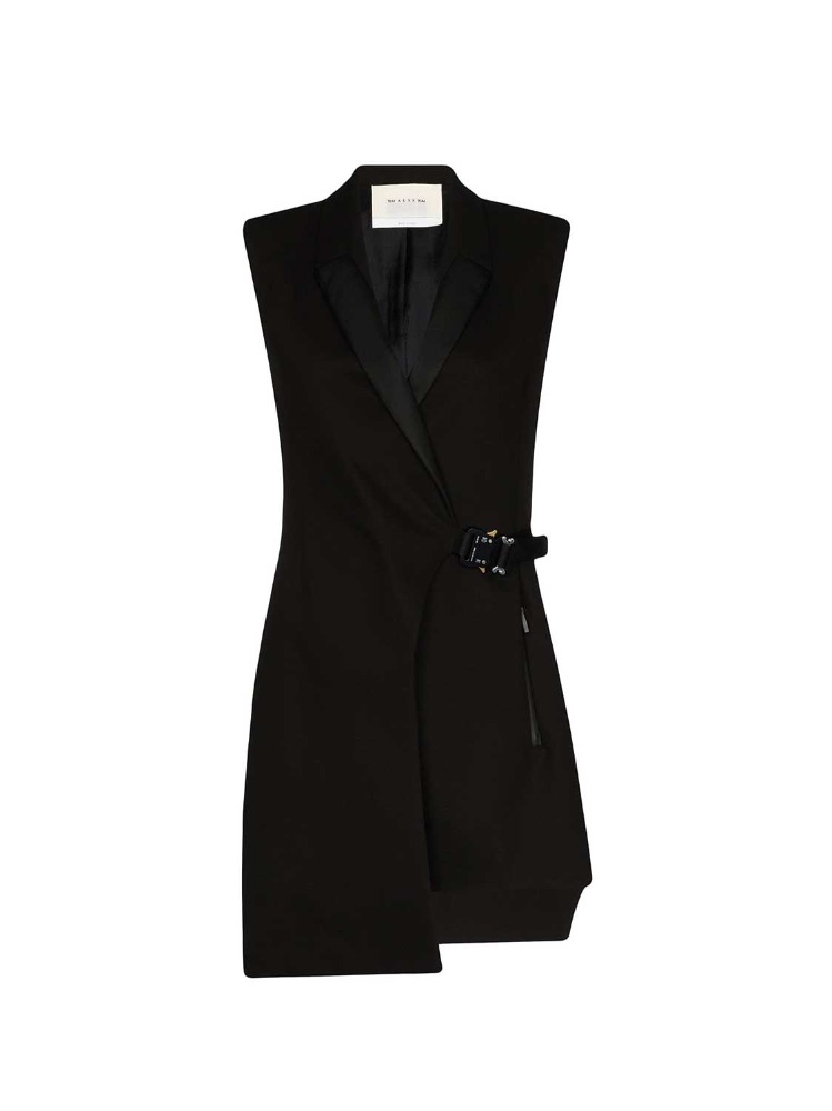TUXEDO DRESS W/ BUCKLE - 아데쿠베