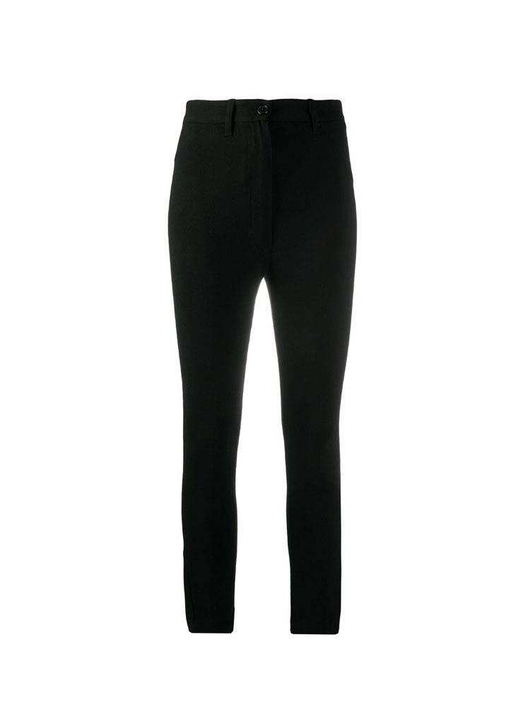 SLIM FIT TROUSERS - 아데쿠베