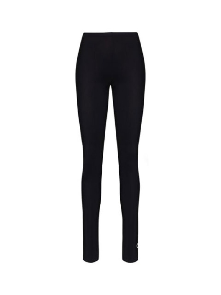 LOGO-PRINT HIGH-WAIST LEGGINGS - 아데쿠베