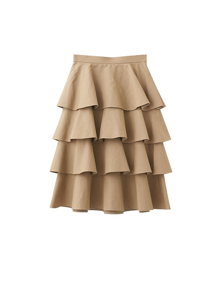 DAPHNE TIER SKIRT - 아데쿠베
