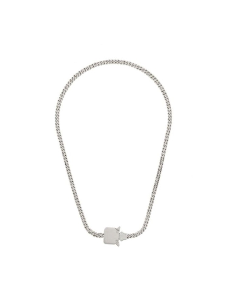 BUCKLED CHAIN NECKLACE - 아데쿠베