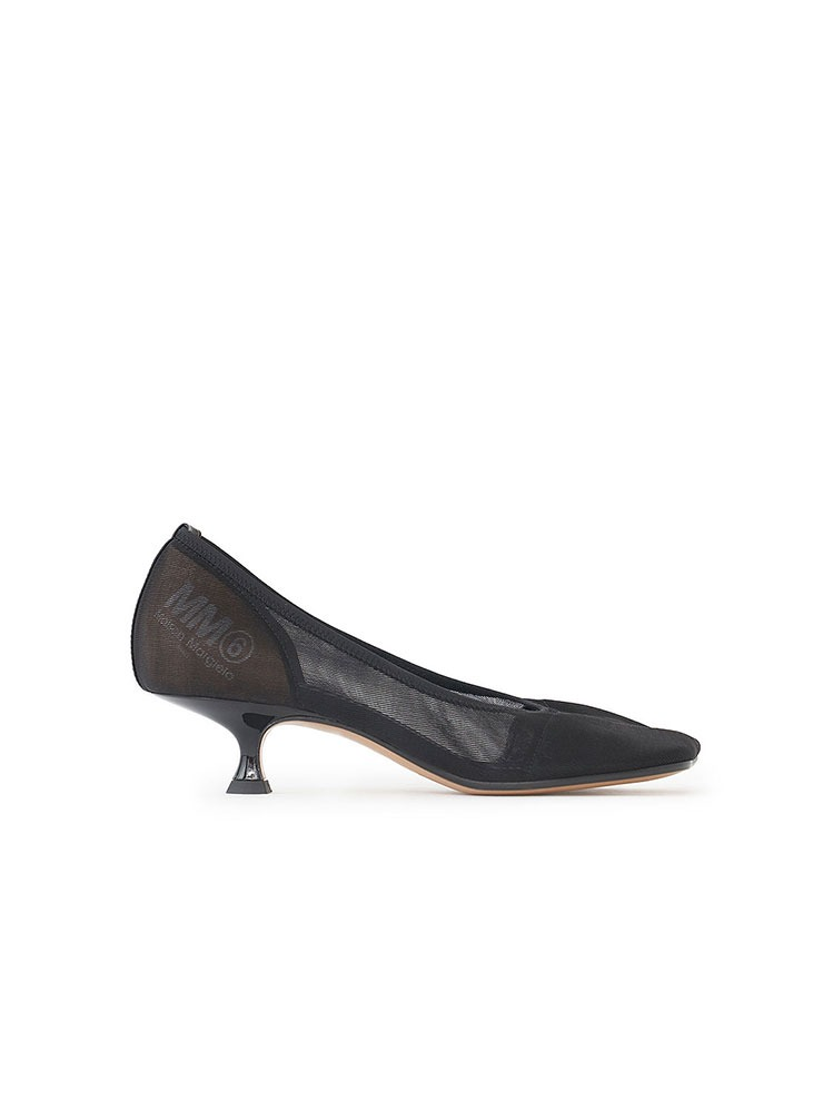 MESH SQUARE TOE COURT SHOE - 아데쿠베