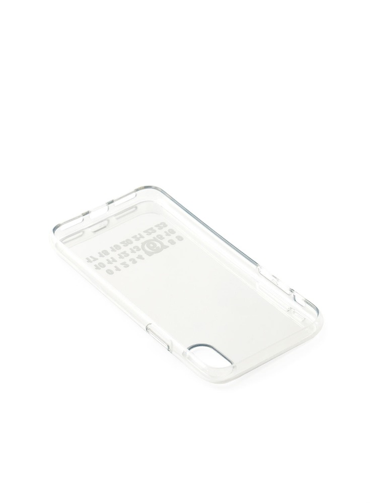 MM6 MAISON MARGIELA MIRRORED SILVER IPHONE CASE - 아데쿠베