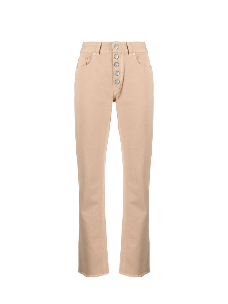 NUDE COLOR STRAIGHT JEANS - 아데쿠베