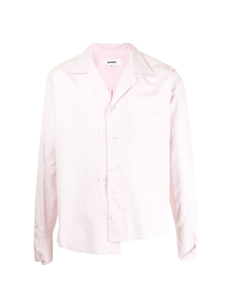 BROAD OPEN COLLAR SHIRT - 아데쿠베