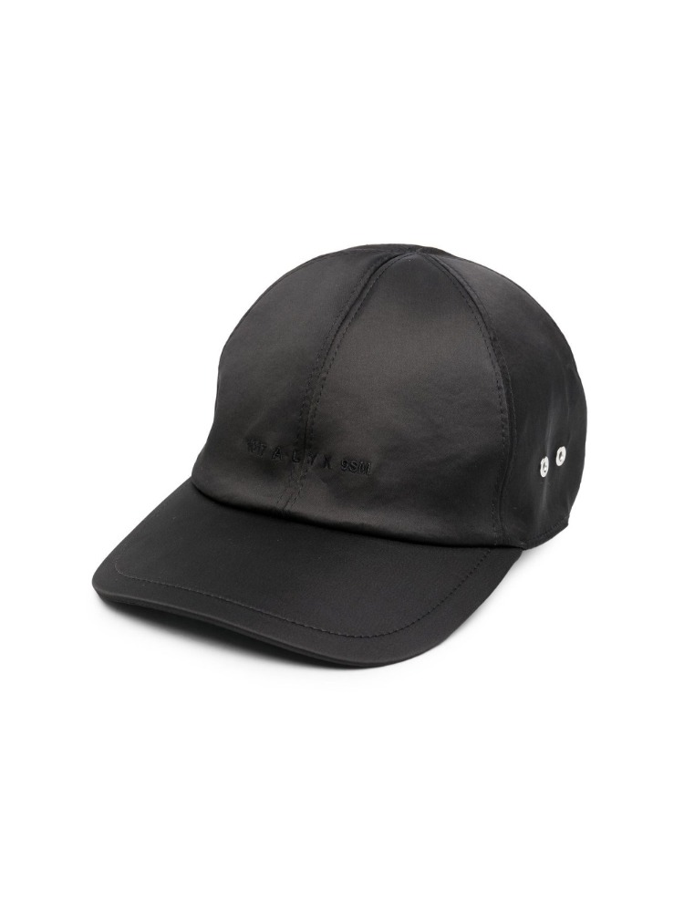 SATIN LOGO HAT W/ BUCKLE - 아데쿠베
