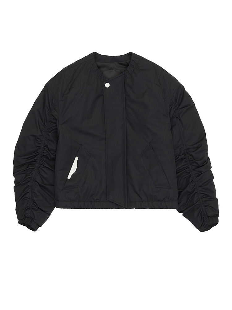 RUCHE BOMBER JACKET - 아데쿠베
